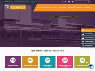 École Nationale Supérieure des Ingénieurs en Arts Chimiques et Technologiques (ENSIACET)