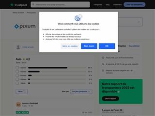 Trustpilot : Pixum