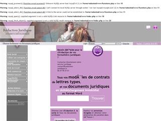 Rédaction-juridique.fr