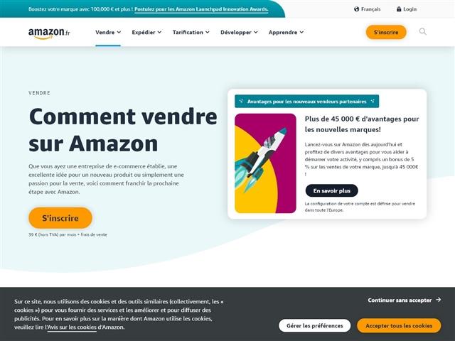 Amazon : Vendre sur Amazon