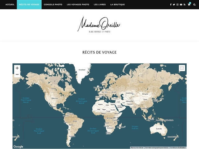 Madame Oreille : Voyages