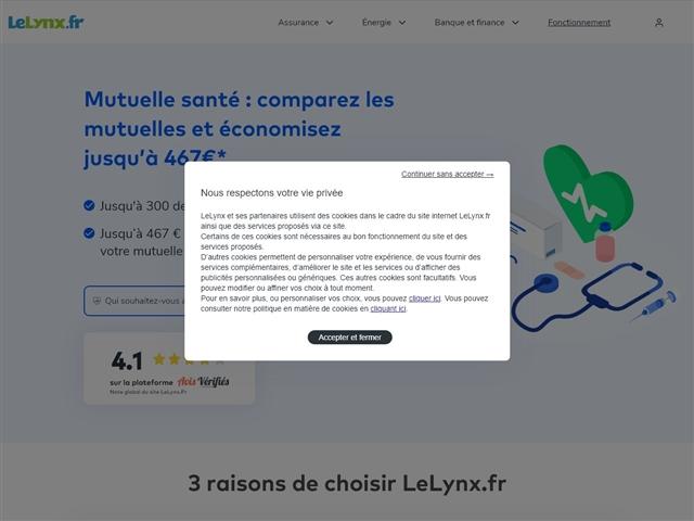 Le Lynx.fr : Mutuelle santé
