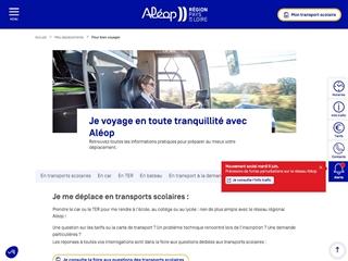 Maine-et-Loire : Aléop