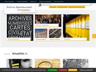 Lot-et-Garonne (47) - Archives départementales