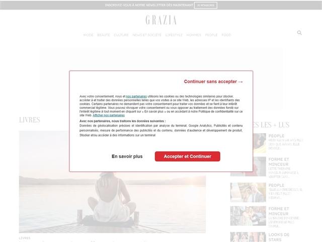 Grazia : Livres