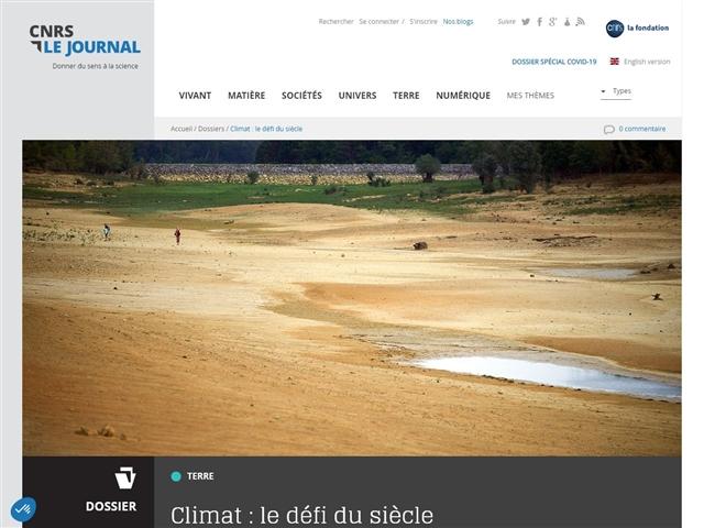CNRS : Le Journal : Climat