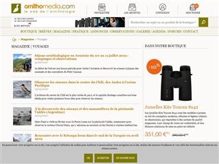 Ornithomedia.com : Magazine voyages