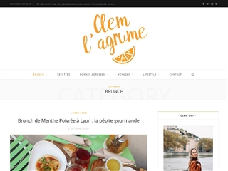 Clem l'Agrume : Brunch