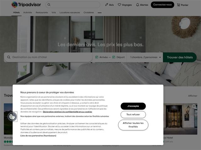 TripAdvisor : hôtels et séjours
