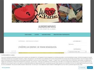 Aurore in Paris : Spectacles in Paris