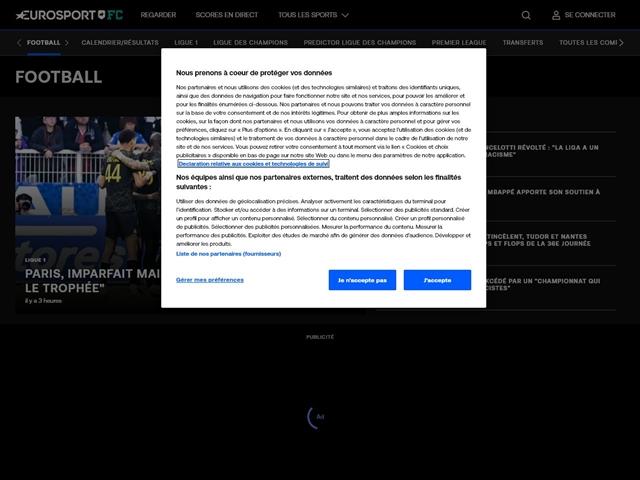 Eurosport : Football