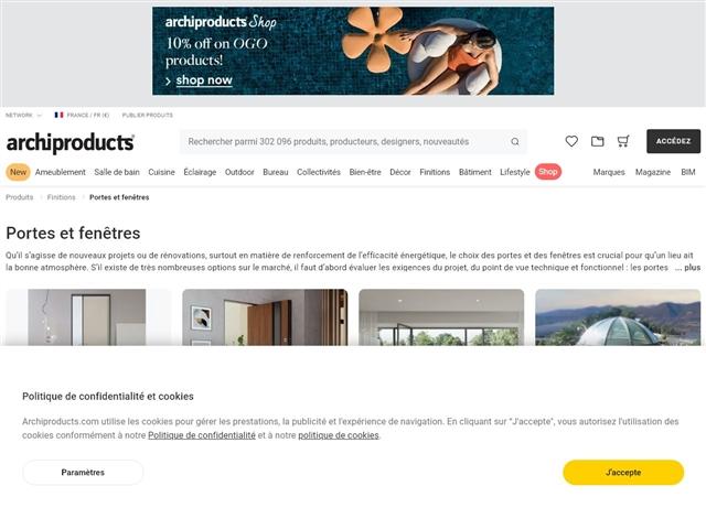 archiproducts : Portes et fenêtres