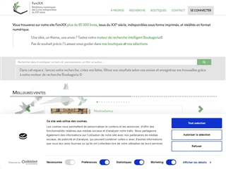 FeniXX - Rééditions numériques du XXe siècle