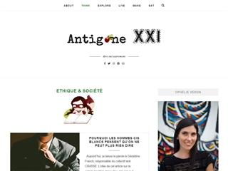 Antigone XXI : Ethique et Société