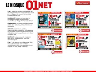 Magazine 01net