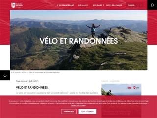 Tourisme Aquitaine : Cyclotourisme