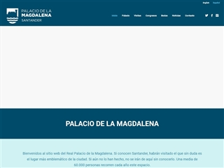 Palais royal de La Magdalena à Santander