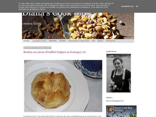 Diana's Cook Blog