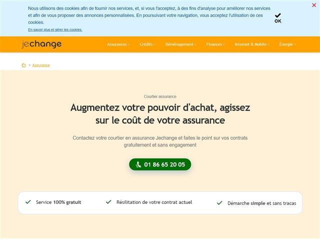 JeChange : Assurance