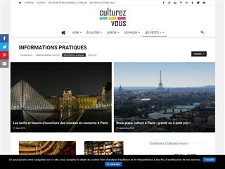 Culturez-Vous : Informations Pratiques