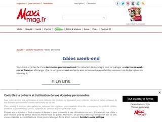 MAXImag : Idées de week-end