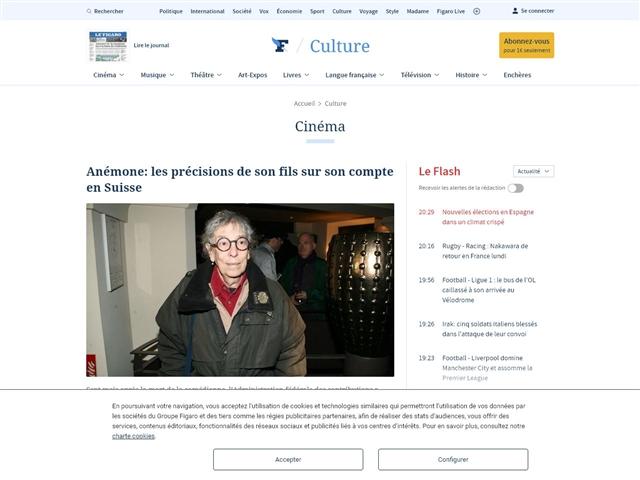 Le Figaro : Cinéma