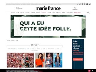 Marie France : scène - théâtre