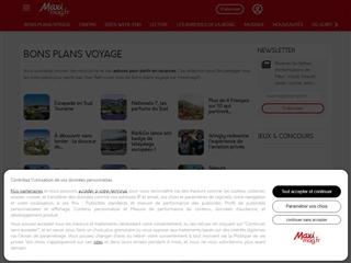 Maxi Mag : Bons Plans Voyages