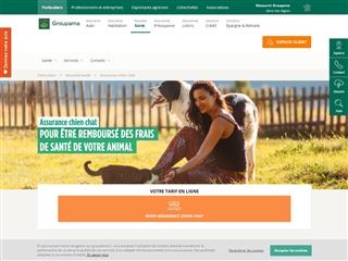 Groupama : assurance santé des chiens et chats