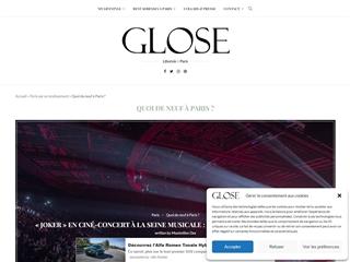 Glose : Quoi de Neuf à Paris ?