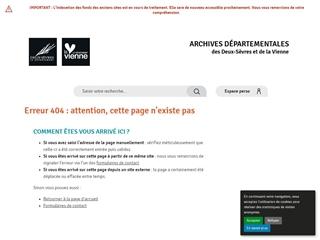 Deux-Sèvres (79) - Archives départementales
