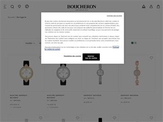 Boucheron : Horlogerie