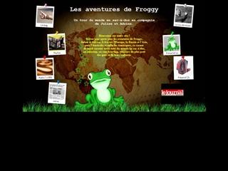 Les aventures de Froggy autour du monde