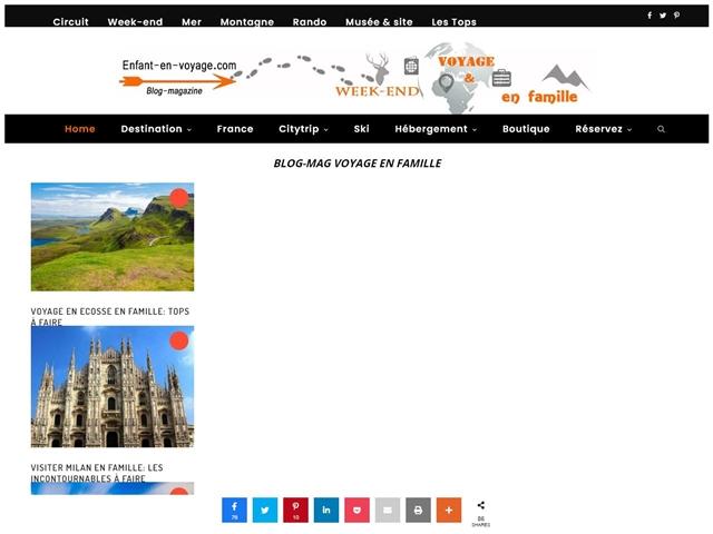 Enfant-en-Voyage.com