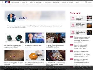 TF1 : Journal de 20h