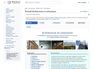 Wikipedia : Portail Architecture