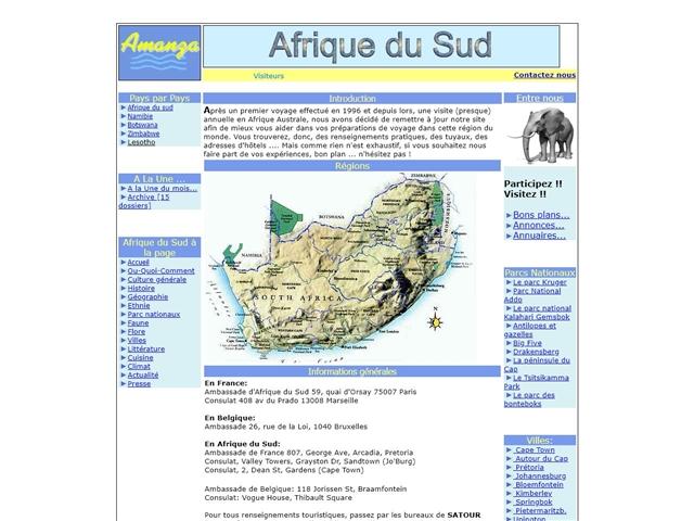 Amanza : Afrique du Sud