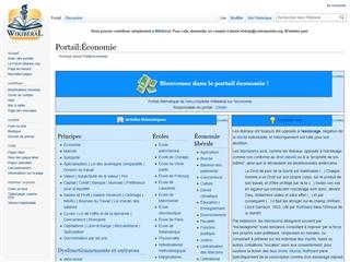 Wikibéral : Portail Économie