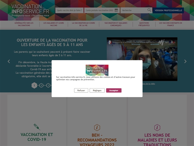 VACCINATION INFO SERVICE.FR