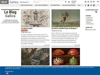 Gallica : Blog