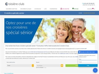 Croisière-club : spécial séniors