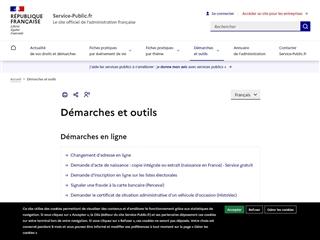 Service Public : Formulaires
