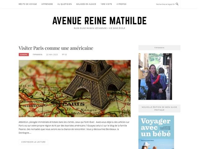 Avenue Reine Mathilde