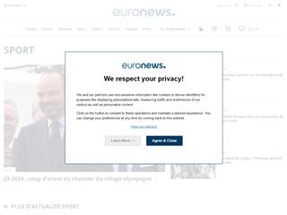 Euronews : Sport