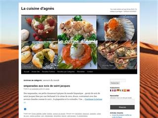 La cuisine d'Agnès : saveurs du monde
