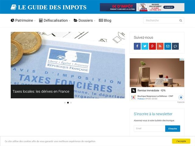Le Guide des Impôts