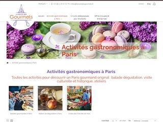 La route des gourmets : Activités à Paris