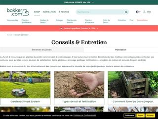 Bakker : Conseils Jardin