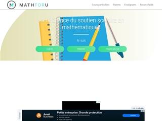 Math foru'