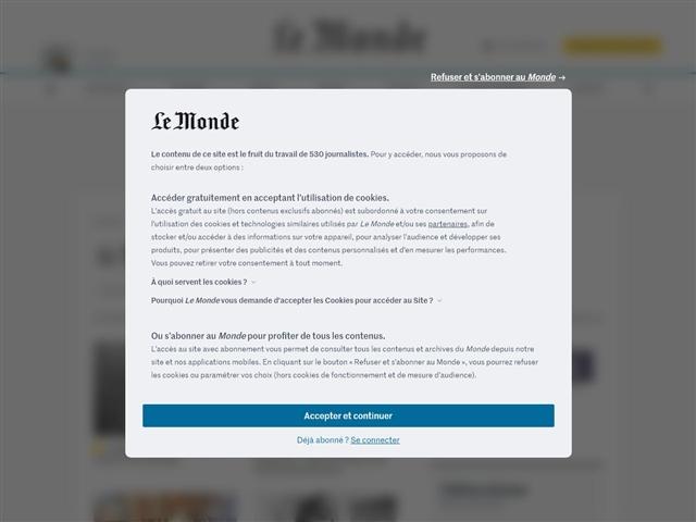 Le Monde : Livres